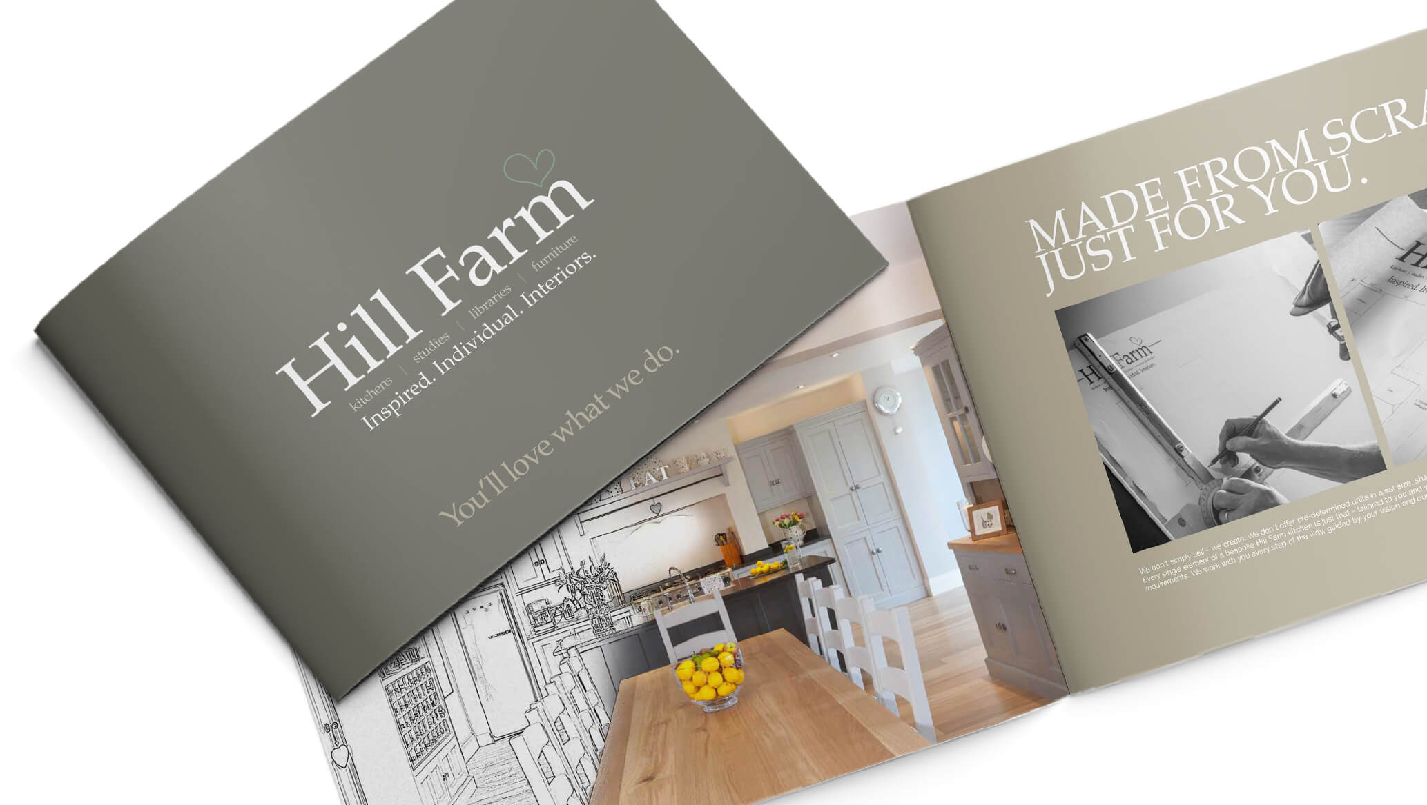 A New Brochure, A Refreshed Ideal - Hill Farm Furniture