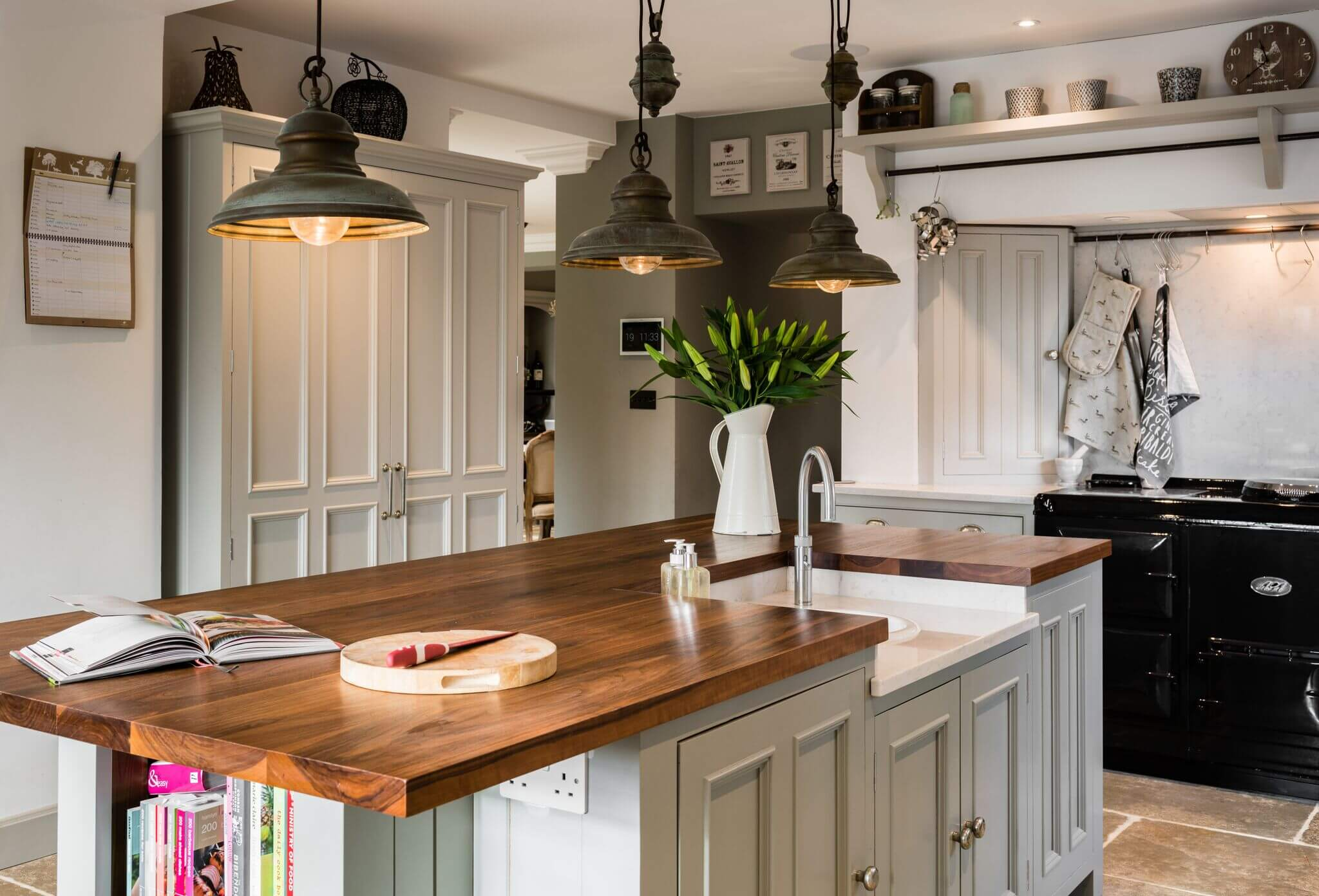 Hill Farm Kitchen in Rutland - Hill Farm Furniture