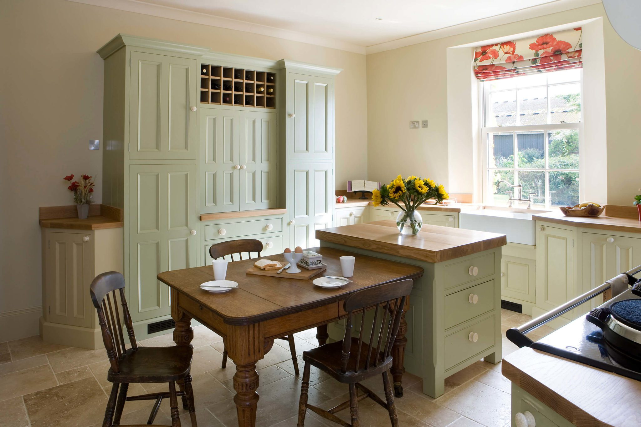 Handpainted Kitchen Furniture - Hill Farm Furniture