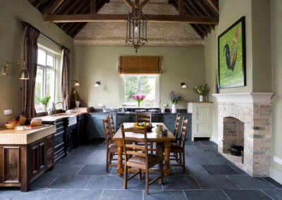 Old Schoolhouse Kitchen Furniture - Hill Farm Furniture