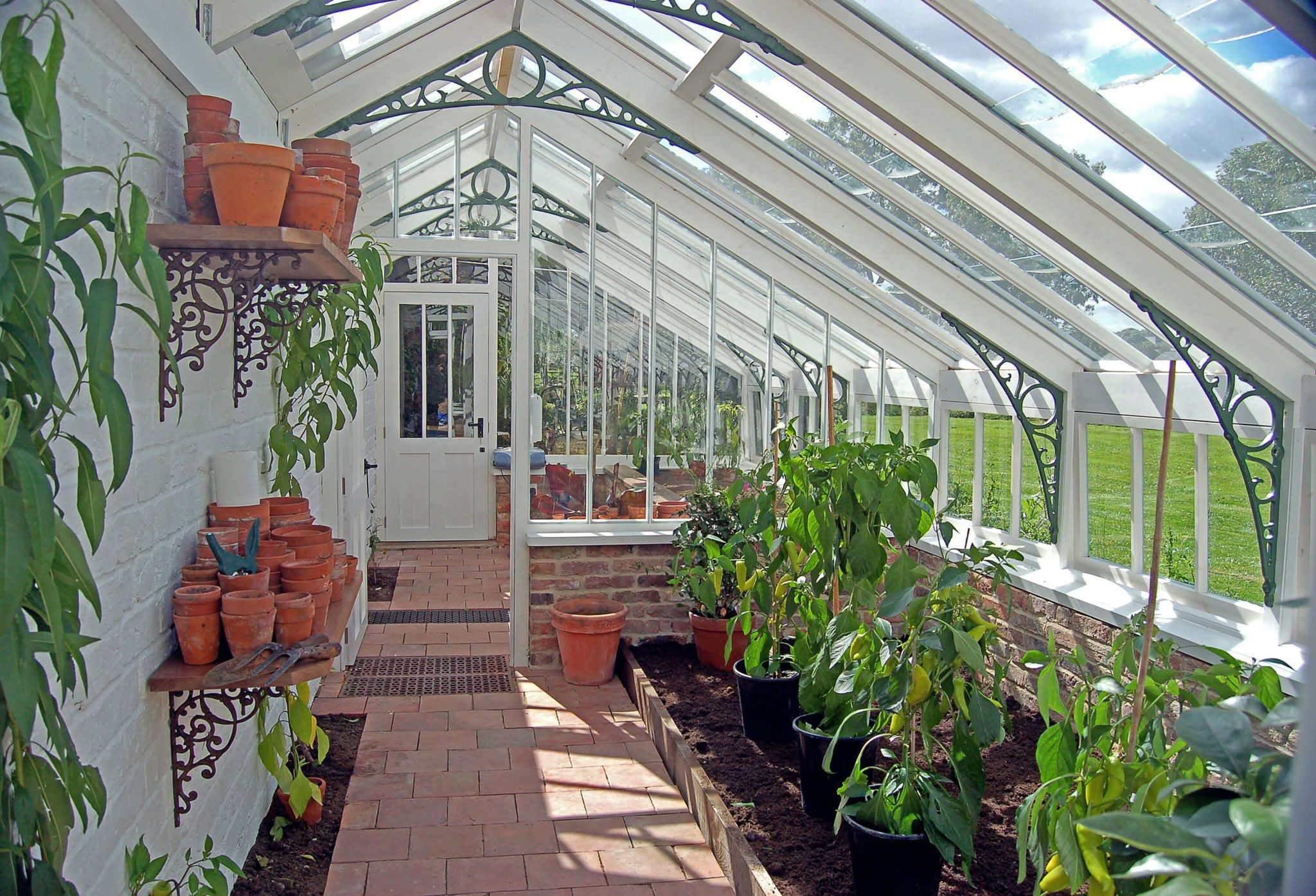 Victorian Glasshouses - Hill Farm Furniture