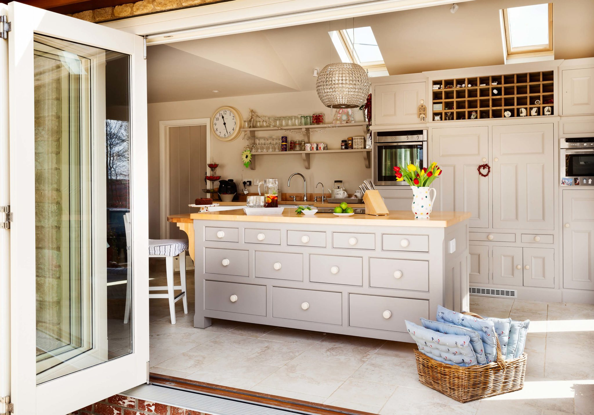 Beautiful kitchen - Hill Farm Furniture