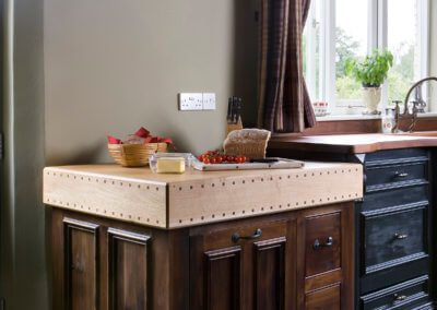 Bespoke Butcher's Block Kitchen Furniture - Hill Farm Furniture