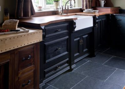 Black Kitchen Furniture - Hill Farm Furniture
