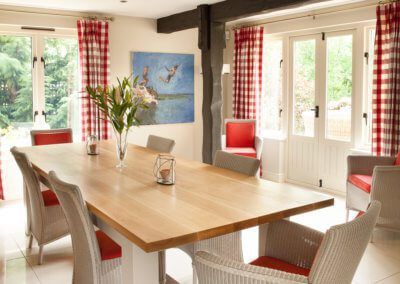 Handmade Dining Table - Hill Farm Furniture