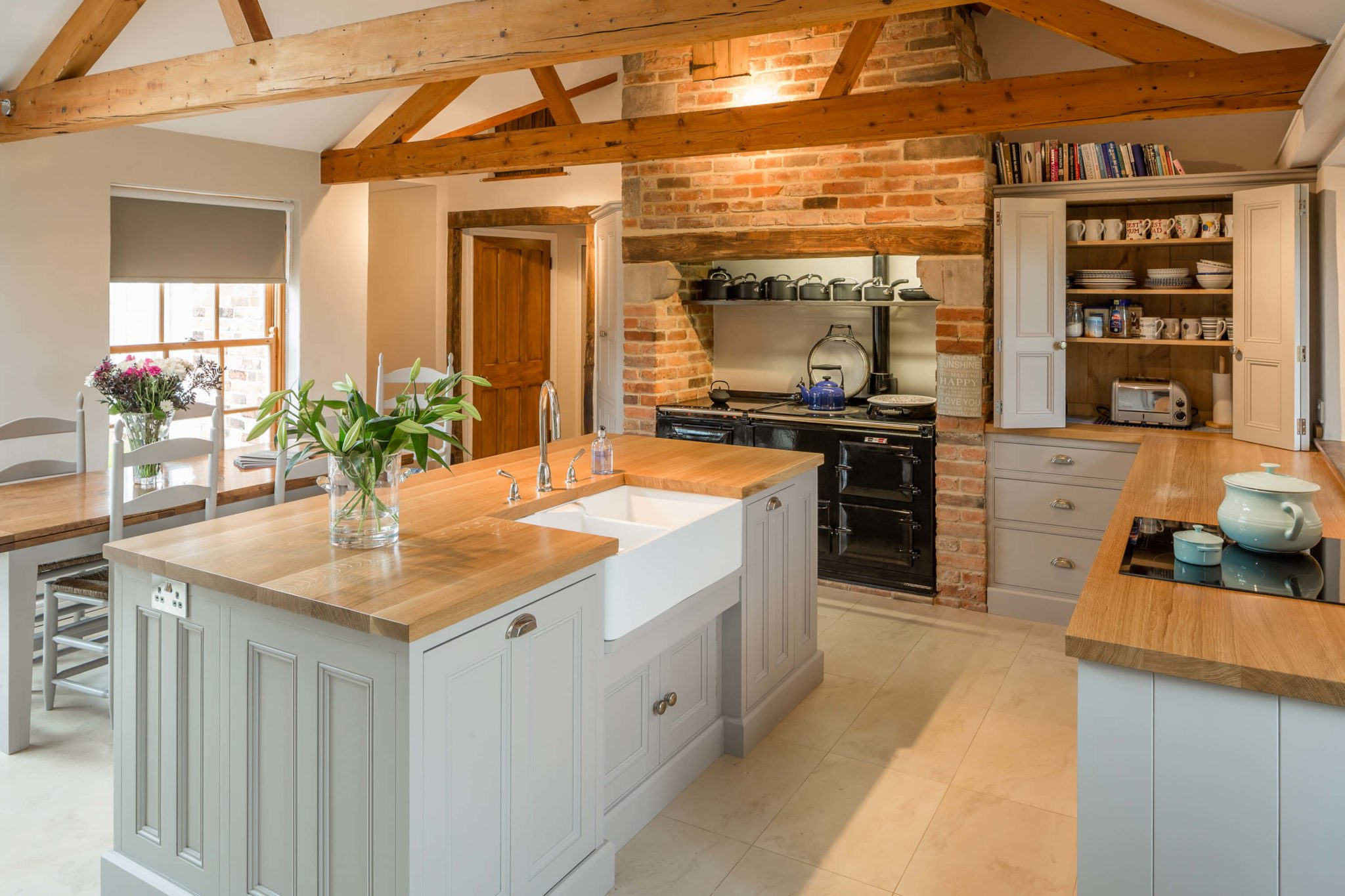 Bespoke Kitchen Island 2 - Hill Farm Furniture