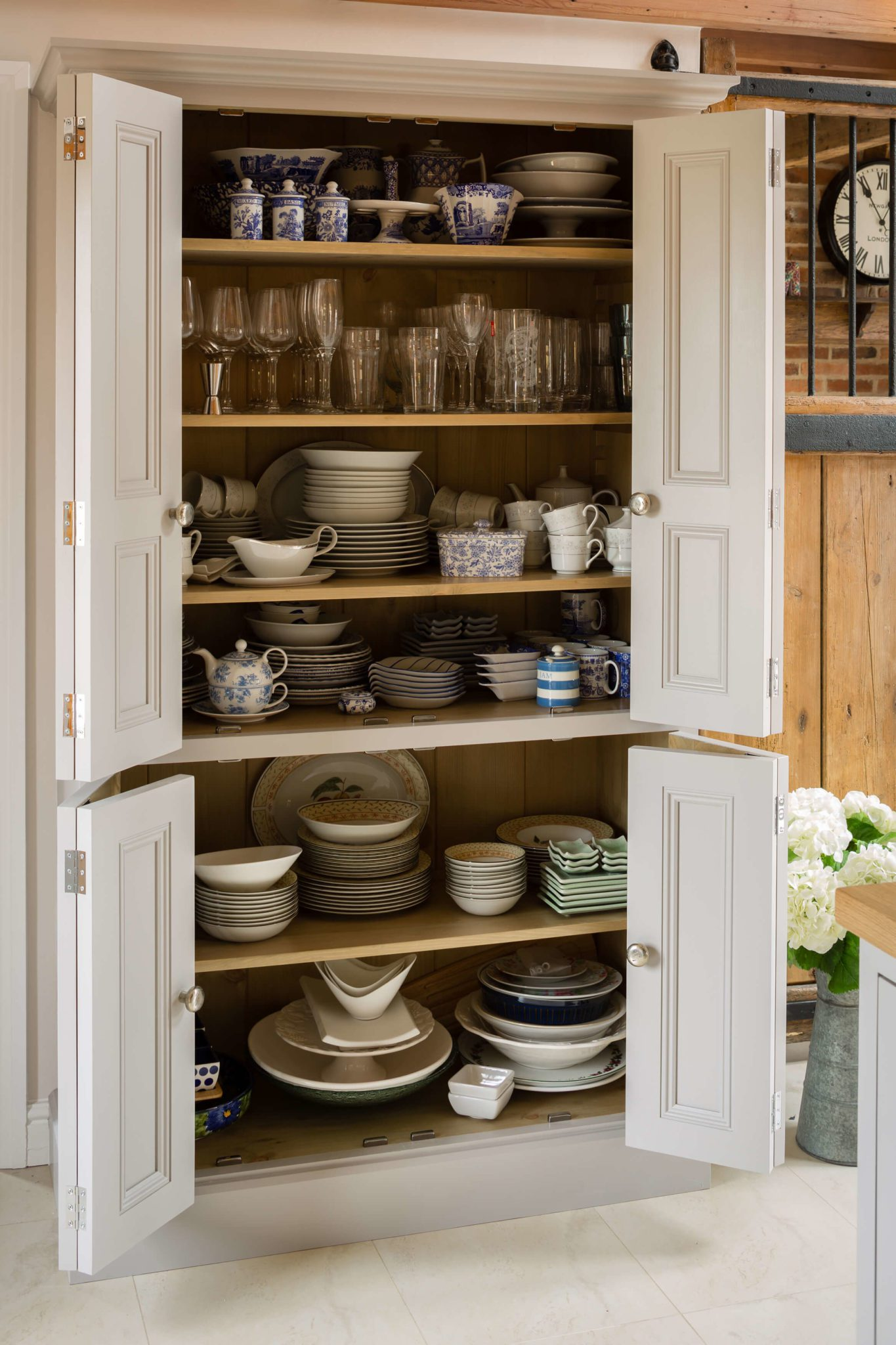 Bespoke Larder Kitchen 2 - Hill Farm Furniture