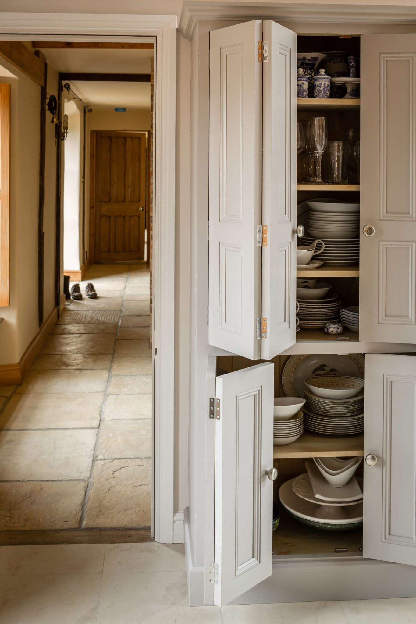 Bespoke Larder Kitchen - Hill Farm Furniture