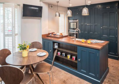Small Kitchen in Nottinghamshire by Hill Farm