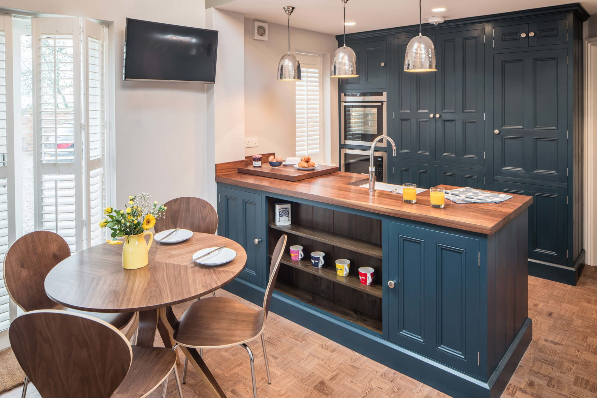 Kitchen Blue 11 - Hill Farm Furniture