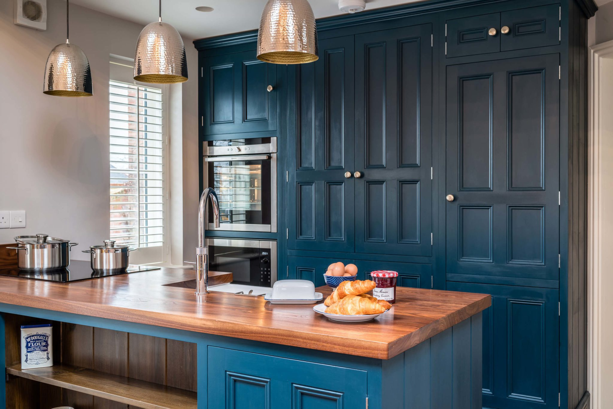 Kitchen Blue 10 - Hill Farm Furniture