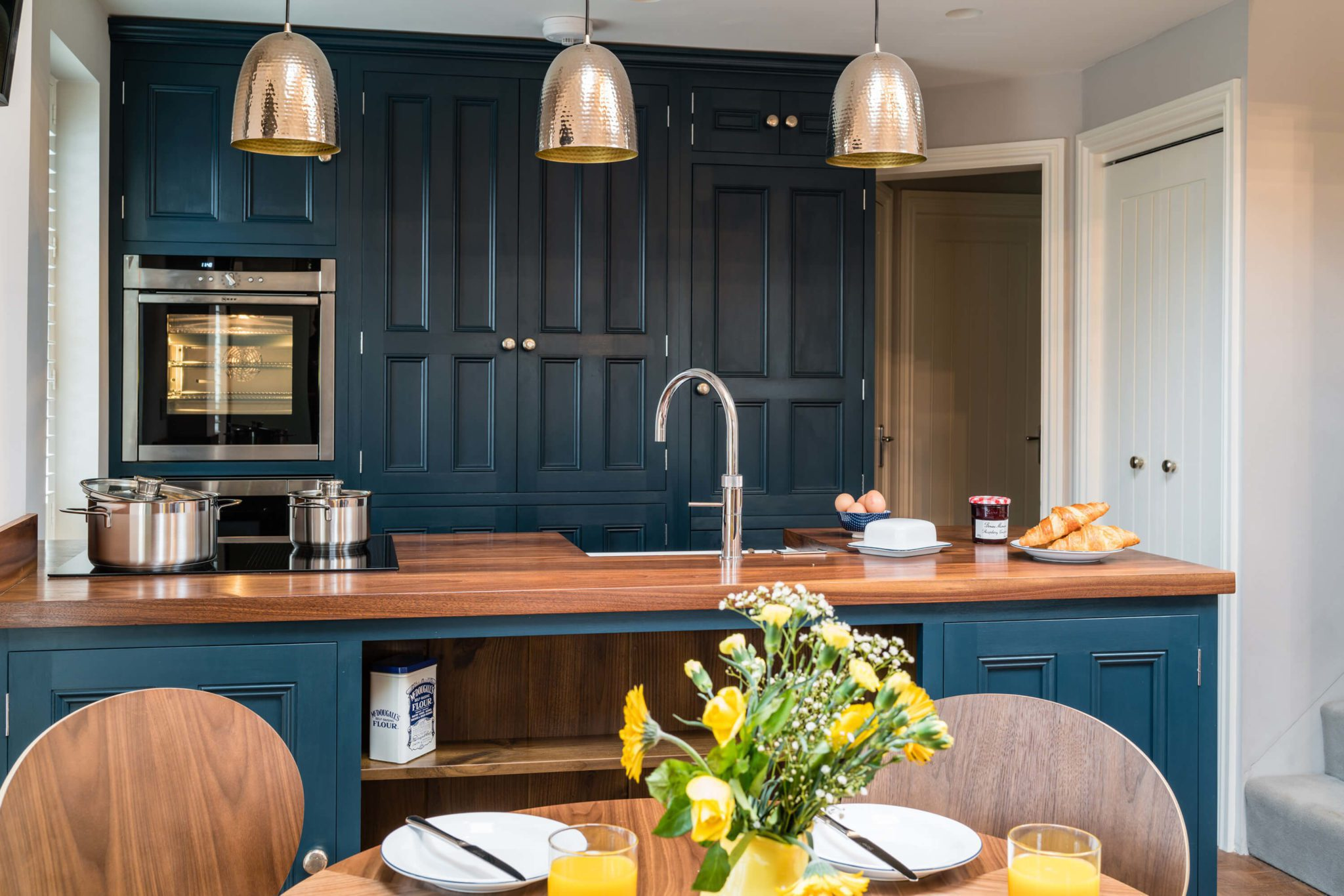 Kitchen Blue 7 - Hill Farm Furniture