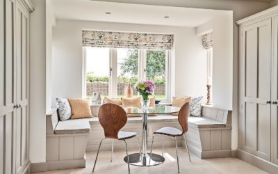 Using textiles or fabrics in kitchen design