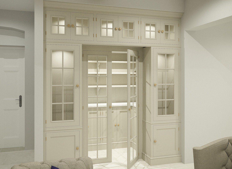 Bespoke pantry design